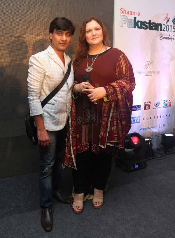 Raakesh Agarvwal with Huma Nassr