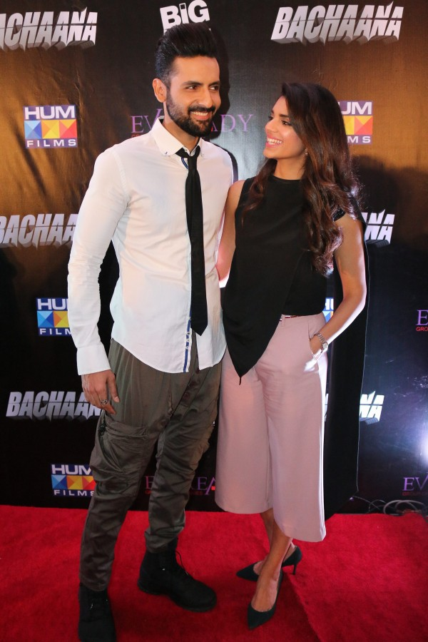 Mohib Mirza and Sanam Saeed (1)