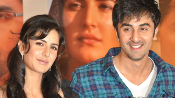 "Katrina Kaif and Ranbir Kapoor at a press meet for film ""Rajneeti"" in JW Marriott, Mumbai"