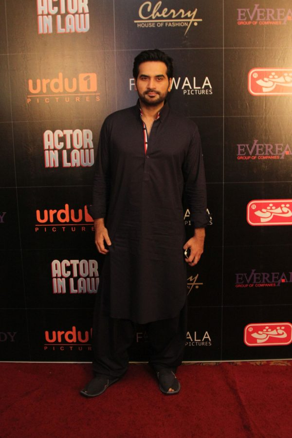 Humayun Saeed at the trailer launch of the film, Actor in Law