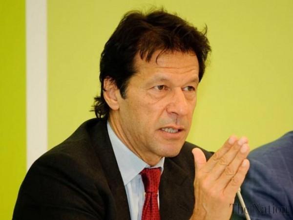 عمران خان، چئیرمین پاکستان تحریک انصاف