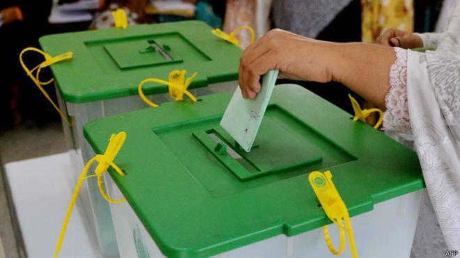 گلگت بلتستان کی قانون ساز اسمبلی کے انتخابات کیلئے ووٹنگ جاری