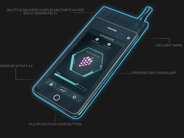 امریکی کمپنی نے سگریٹ پینے والوں کے لیے ''ای سگریٹ'' موبائل فون تیارکرلیا