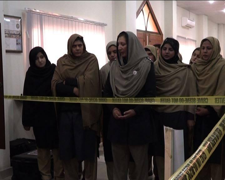 خیبرپختونخواہ میں مجرموں کی تفشیش خواتین کے سپرد