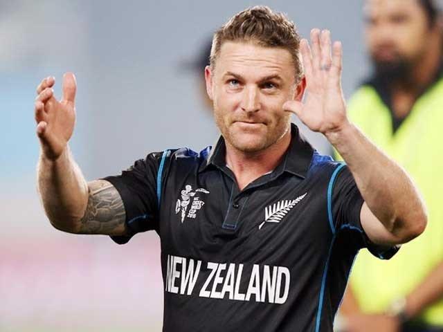 نیوزی لینڈ کے کپتان برینڈم میکیولم کا تمام طرز کی کرکٹ سے ریٹائرمنٹ کا اعلان