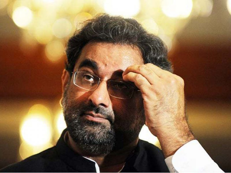 شاہد خاقان عباسی نے وزارت عظمیٰ کیلئے کاغذات نامزدگی جمع کرادیئے