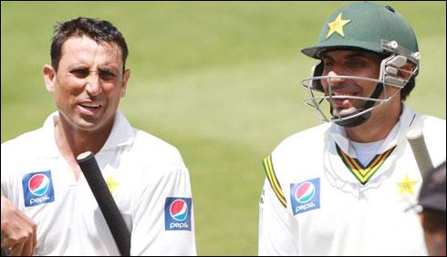 ٹیسٹ رینکنگ: یونس خان اور مصباح الحق کی ایک درجہ ترقی
