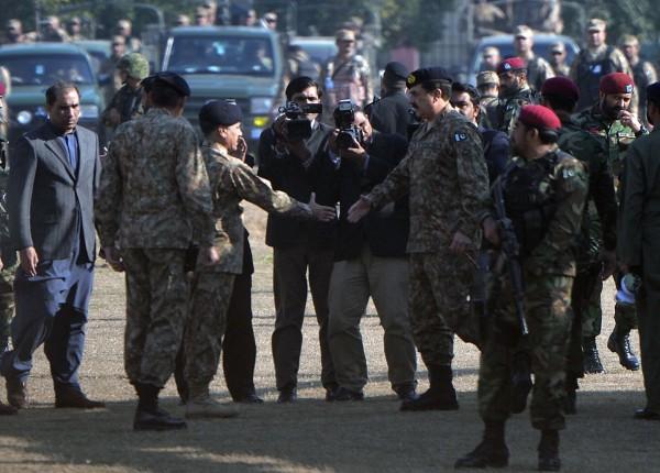 سانحے کی اطلاع ملتے ہیں آرمی چیف جنرل راحیل شریف پہنچ گئے