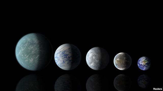 'فلک پر جشن'، پانچ سیاروں کی صف بندی