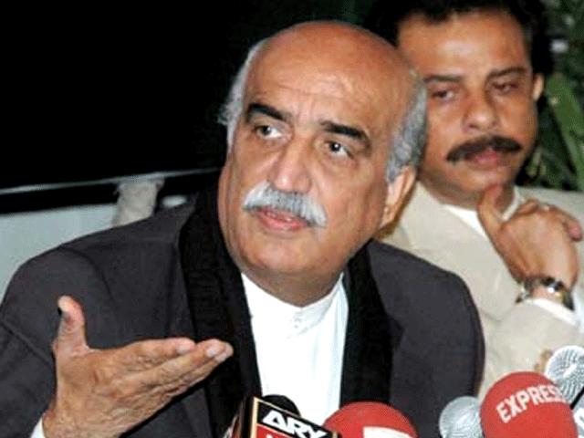 سعودی عرب اور ایران کے معاملے پر تمام جماعتیں حکومت کے ساتھ ہیں: خورشید شاہ