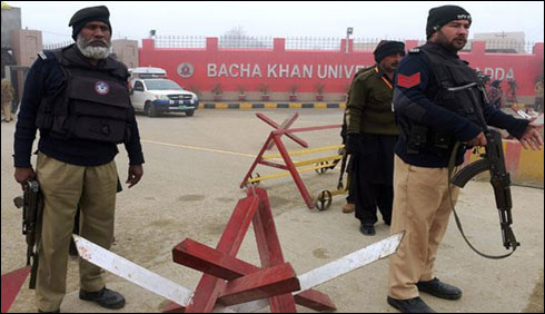 باچاخان یونیورسٹی چارسدہ دہشت گردحملے کے26دن بعد کھل گئی