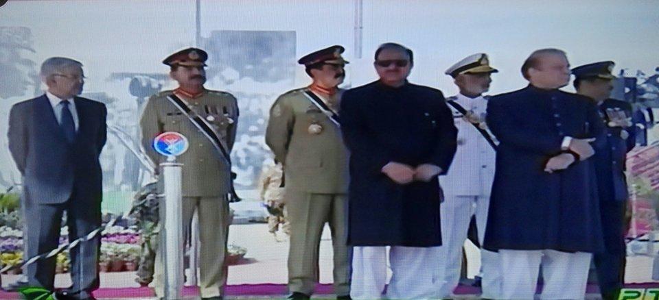پاکستان کبھی ہتھیاروں کی دوڑ میں شریک نہیں ہوا،اسلحہ اپنےدفاع کے لیے ہے.صدر مملکت