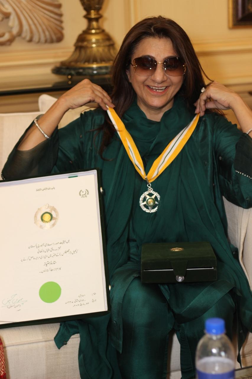 سپیشل اولمپکس کی چیئرپرسن رونق لاکھانی کے لیے اعزاز