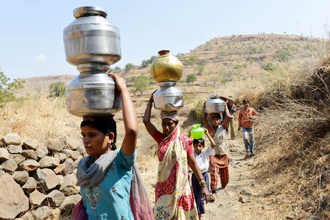 بھارت کی دس ریاستوں میں شدید خشک سالی