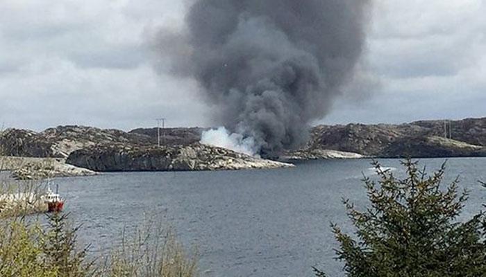 ناروے میں ہیلی کاپٹرگرکرتباہ،11افرادہلاک
