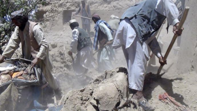 افغانستان :امریکا نے ایک بار پھرفضائی حملےمیں بے گناہ شہری مار دیے.