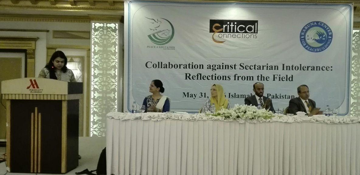 پاکستان میں فرقہ وارانہ عدم برداشت کے خاتمے کیلئےمعاشرے کے پانچ اہم طبقات کا اتحاد