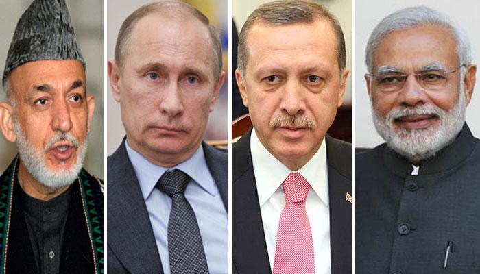 وزیراعظم کیلئےعالمی رہنماؤں کی جانب سے نیک تمناؤں کا اظہار