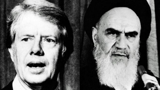 خمینی کی 'شیطانِ بزرگ' سے دوستی اور دشمنی