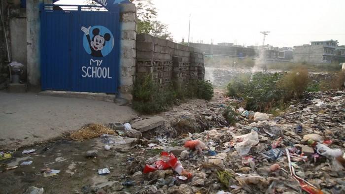 کیا ایسی بستی بھی اسلام آباد میں ہو سکتی ہے ؟