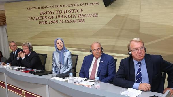 ایرانی حکومت کی قیادت کے خلاف عدالتی کارروائی کا بین الاقوامی مطالبہ