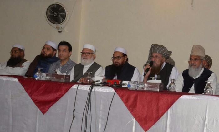 عمران خان کے دھرنے میں نہیں جائیں گے: دفاع پاکستان کونسل