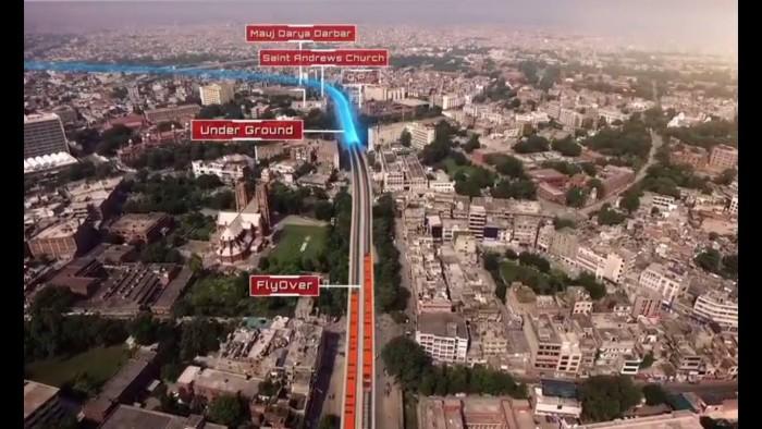 'اونج لائن ٹرین پروجیکٹ کے لیے ماہرین کا پینل تشکیل'