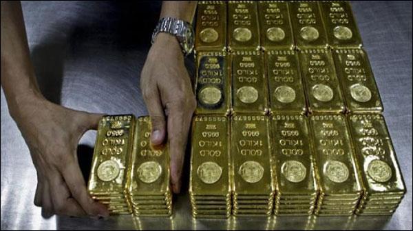 سونا 350 روپے سستا ہوگیا