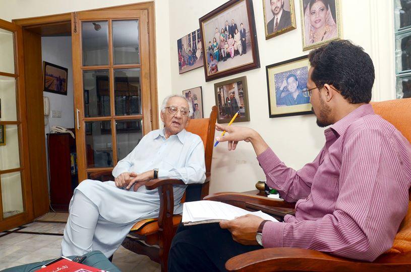 ممتاز دانشور ،قانون دان اور بائیں بازو کے رہنما عابد حسن منٹو کا خصوصی انٹرویو