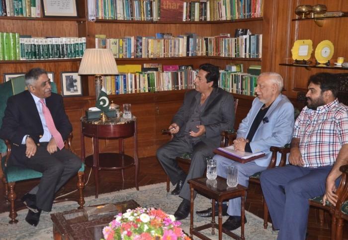 حکومت فلمی صنعت کے فروغ کے لیے ہر ممکن تعاون جاری رکھے گی، گورنر سندھ