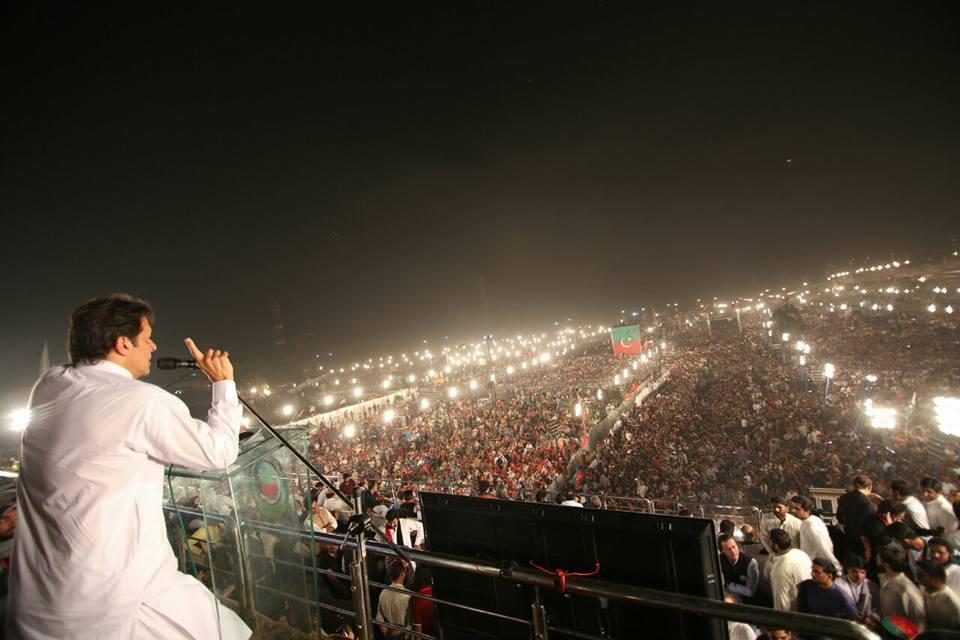 عمران خان کامینارپاکستان شو:کیا قلعہ فتح ہو گیا؟