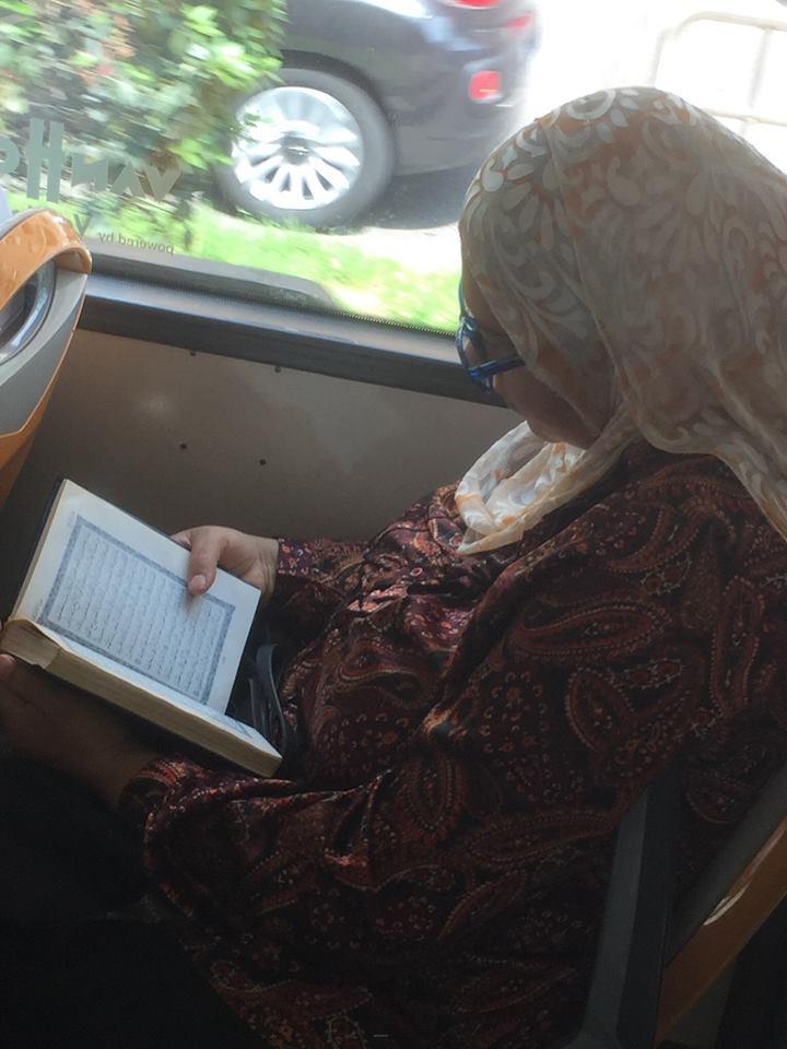 اٹلی پبلک بس میں قرآن پاک کی تلاوت اور رمضان المبارک