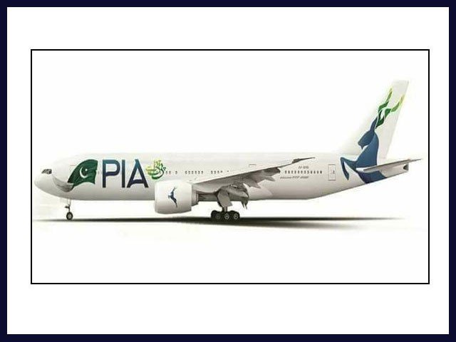 پی آئی اے کو جہازوں پر قومی پرچم کی جگہ مارخور کی تصاویر پینٹ کرنے سے روک دیا گیا