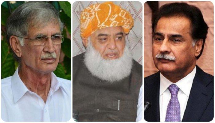 نازیبا زبان: ایاز صادق، فضل الرحمان اور پرویز خٹک کو حلف نامہ جمع کرانے کا حکم