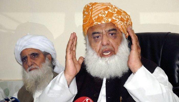 سونے سے کوروناوائرس سو جاتا ہےاور مرنے سے مرجاتا ہے.مولانا فضل الرحمان کی دھوں دار پریس کانفرنس