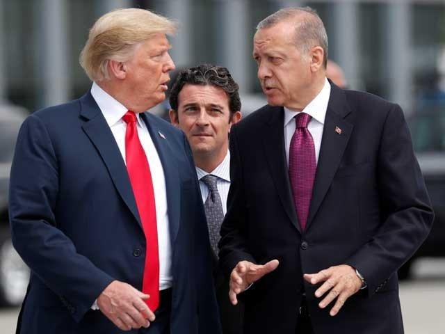 ترکی اورامریکا آمنے سامنے