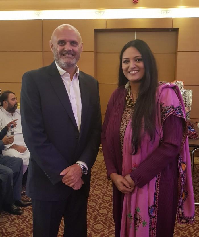 صوفی اوپرا گلوکارہ سائرہ پیٹر کی کراچی میں پریس کانفرنس