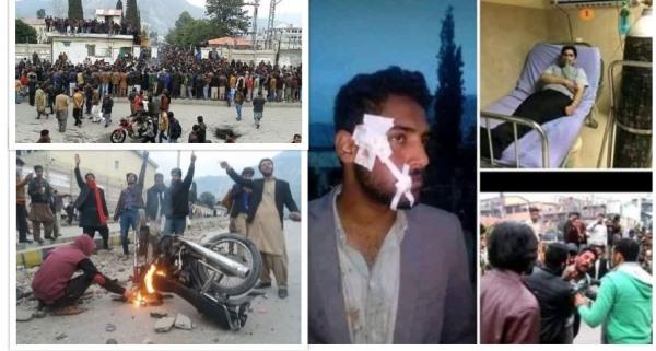 مظفرآباد میں یونیورسٹی طلبہ اور پولیس کے درمیان تصادم،لاٹھی چارج اور شیلنگ میں 20 طلبہ زخمی، تدریسی عمل معطل