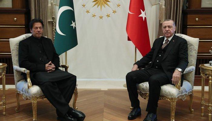 ترک صدر کی وزیراعظم عمران خان کی امن اور مذاکرات کی کوششوں کی تعریف