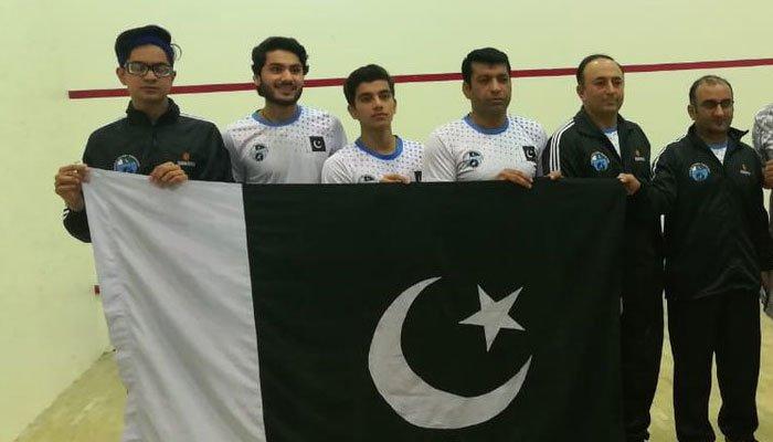 بھارت کو شکست دے کر پاکستان ایشیئن جونیئراسکواش کا چیمپیئن بن گیا