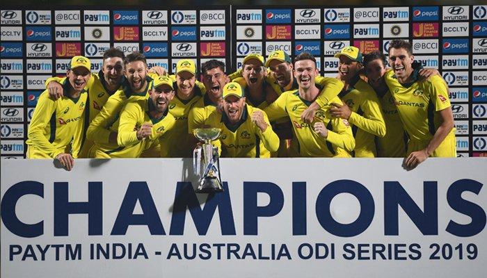 آسٹریلیا نے پانچویں ون ڈے میں بھارت کو شکست دیکر سیریز اپنے نام کرلی