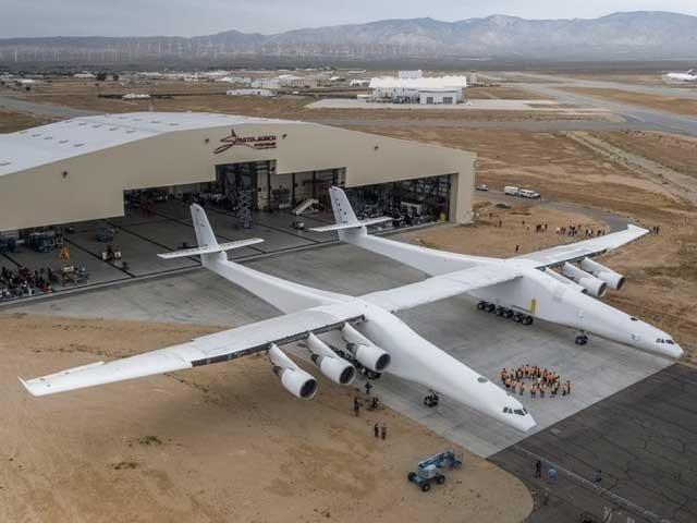 دنیا کے سب سے بڑے اور طاقتور انجن والے طیارے کی پہلی پرواز مکمل