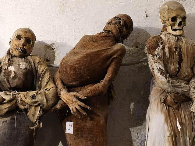 اٹلی میں واقع 8 ہزار لاشوں اور ڈھانچوں کا میوزیم