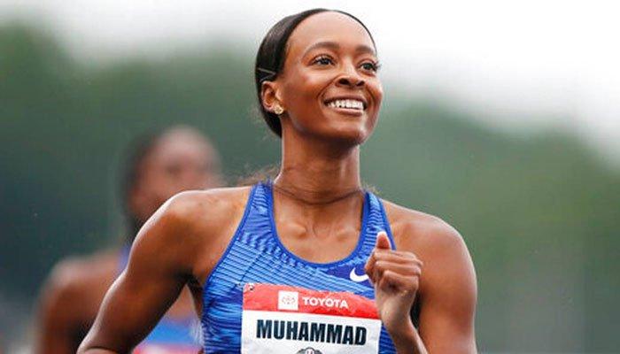 امریکی ایتھلیٹ دلیلہ محمد نے نیا عالمی ریکارڈ قائم کر دیا