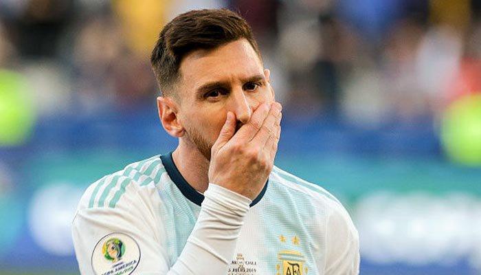 ارجنٹینا کے کپتان لیونل میسی پر 3 ماہ کیلئے پابندی عائد