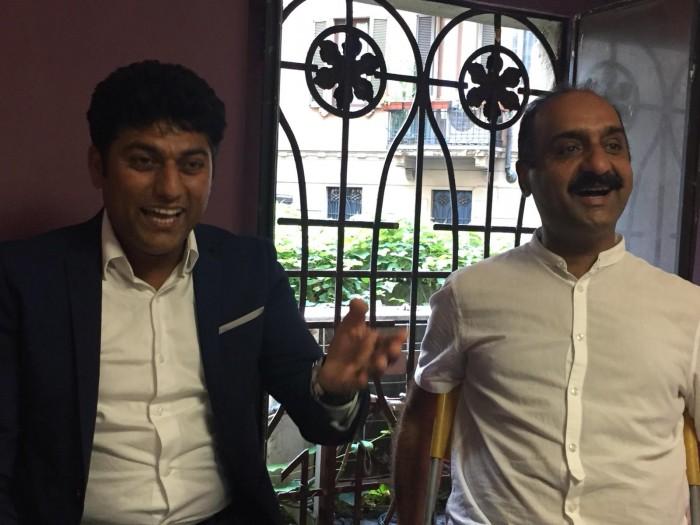 میلان حلقہ  ادب و ثقافت اٹلی کے زیر اہتمام اردو و پنجابی کے پیرس سے شاعر آصف جاوید آسی کے اعزاز میں مشاعرہ