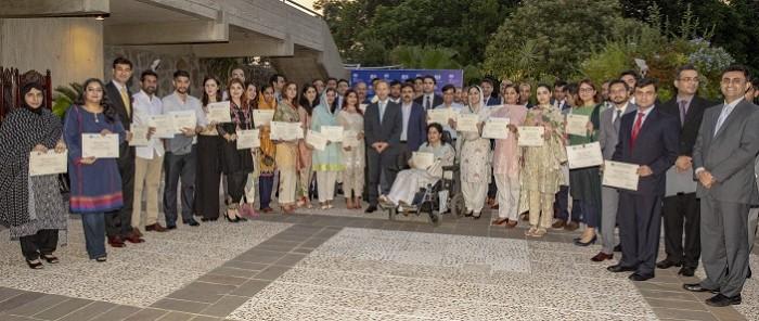 برطانوی چیوننگ اسکالر شپ اس سال 53 پاکستانی اسکالرز کو دیا گیا