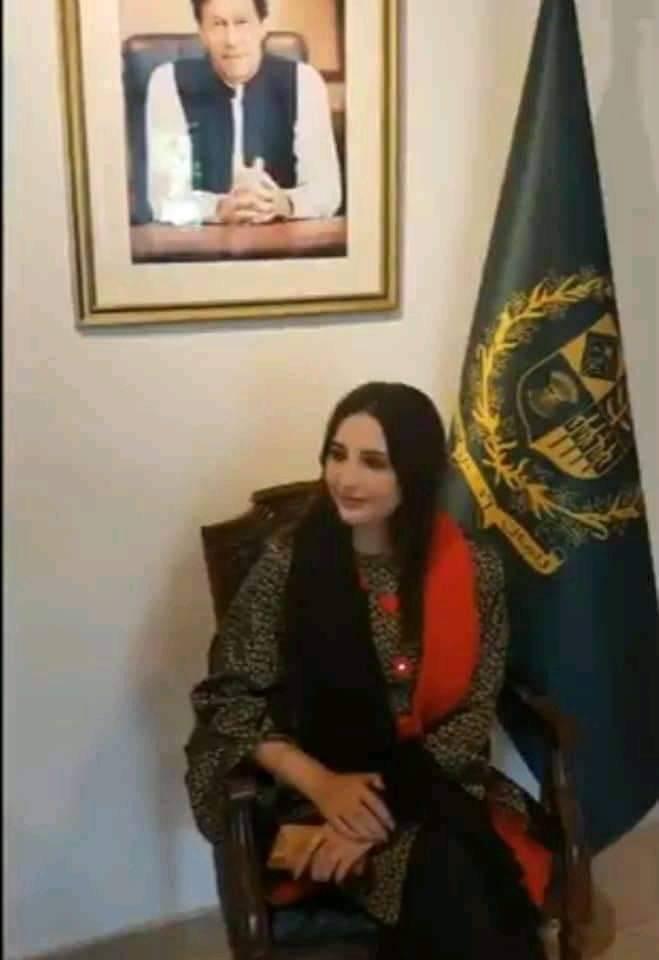 پی ٹی آئی کی ورکر اور عمران خان کی فین ہوں: حریم شاہ