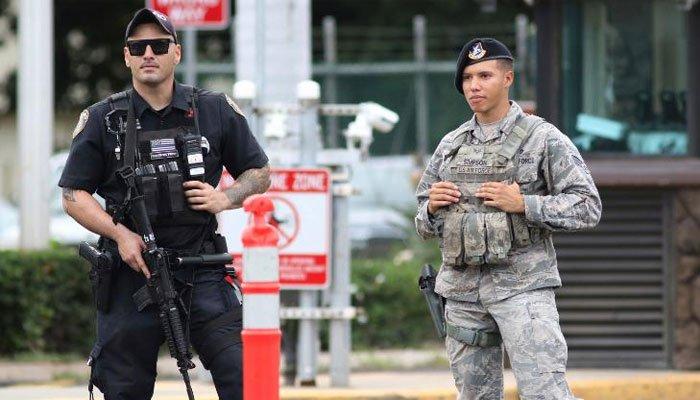 امریکی فوجی کی نیوی اڈے پر فائرنگ سے دو حکومتی اہلکار ہلاک