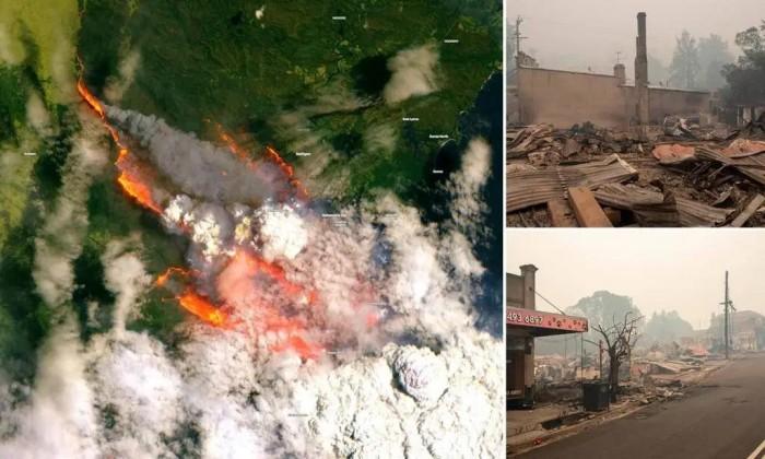 آسٹریلیا میں آگ کی تباہ کاریاں جاری: نماز استسقا کے بعد بارش